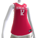 Houston Rockets NBA2K12-Trikot
