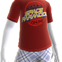 스페이스 파라노이드 티셔츠