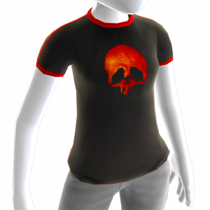 Zombie Driver HD Red Skull T-shirt