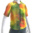 Rasta Button Up Shirt