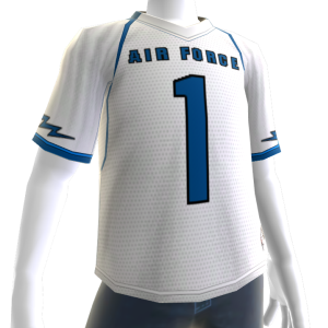 Air Force White Football Jersey