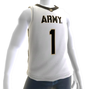 Army Basketball Home Jersey
