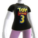 T-shirt com logo Toy Story 3