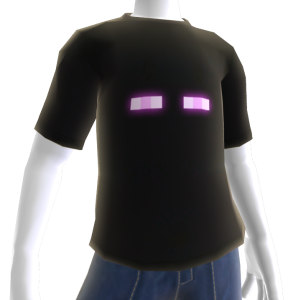 Camiseta de Enderman de Minecraft