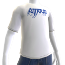 Atticus Metalhead White t-shirt 