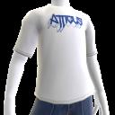 Atticus Metalhead White t-shirt