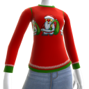 Christmas Ugly Sweater Santa