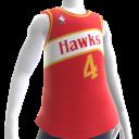 Hawks 85-86 Retro NBA 2K14 Jersey