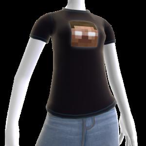 Minecraft Herobrine-t-skjorte