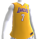 La Jersey de los Los Angeles Lakers NBA2K12