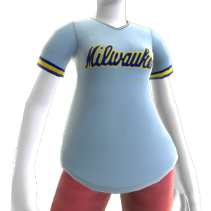 Retro Milwaukee Brewers Jersey