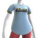 Maglia Milwaukee Brewers retro
