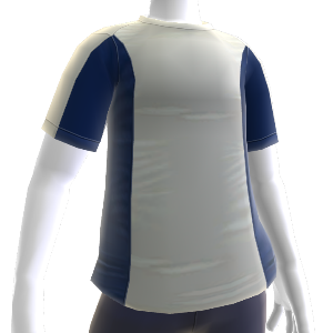 Blue Workout Shirt