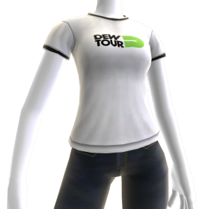 Dew Tour Tee - White