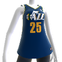 Utah Jazz NBA2K12-Trikot