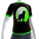 Green Wolf Howl Shirt 2 GT