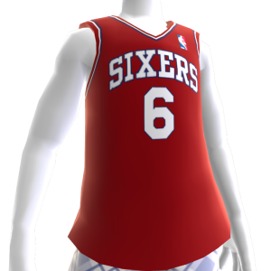 Sixers 84-85 Retro NBA 2K13 Jersey