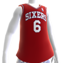 Camiseta Retro NBA 2K13 Sixers 84-85