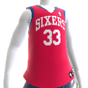 Maillot NBA 2K13 Philadelphia 76ers