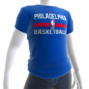 76ers On-Court Tee