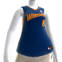Golden State Warriors NBA2K10-Trikot