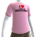 "T-shirt ""J'aime Gale Weathers T-Shirt"""