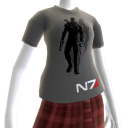 Mass Effect 3 Graues Shirt