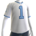 UNC White Football Jersey
