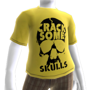 "Camiseta ""Crack Some Skulls"""
