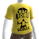 T-shirt &quot;Crack Some Skulls&quot;
