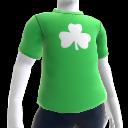 T-shirt trèfle vert