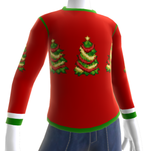 Christmas Ugly Pixel Sweater