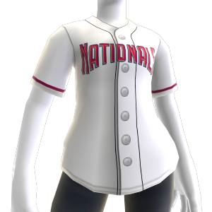 Jersey Washington Nationals MLB2K10