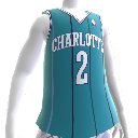Maillot NBA2K13 rtro Hornets 92-93