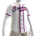 Jersey Atlanta Braves MLB2K10