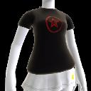 Camiseta de estrella negra