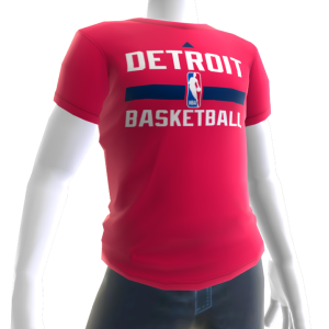 Pistons On-Court Tee