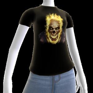Epic Horror Skull 15 T-Shirt
