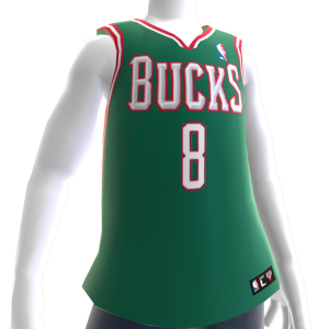 Milwaukee Bucks NBA 2K14 Jersey