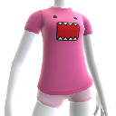 Pink Domo Face Shirt