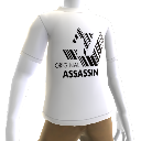 "Hitman: Absolution T-shirt ""Orginal Assassin"" bianca"