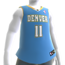 Denver Nuggets NBA2K11-Trikot