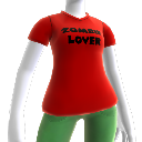 T-shirt Ami des zombies