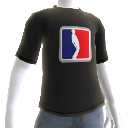 T-Shirt noir sport Pwnage