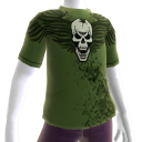 "T-shirt ""teschio"" Trials HD"