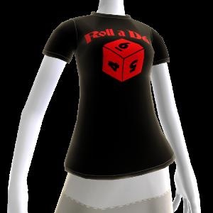 Daggerdale:  D6 TShirt  Female