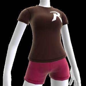 Camiseta logotipo de Robin