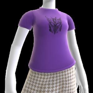 Decepticons Black Logo T-Shirt