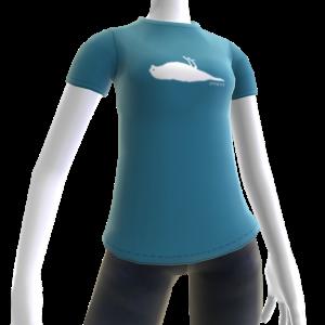 Atticus Silhouette Blue t-shirt