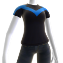 Le t-shirt logo de Nightwing